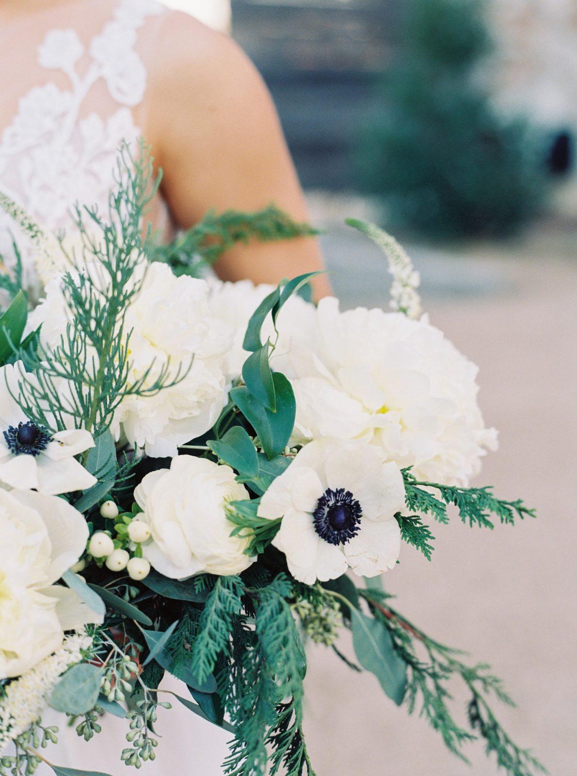 Alba Dahlia Floral Wedding Bouquet: Monica Alberty DFW Wedding Photography featured on Alexa Kay Events