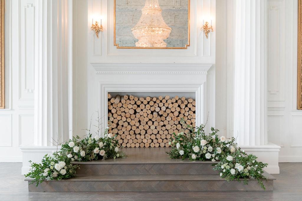 Wedding ceremony inspiration: Elegant Dallas Wedding Inspiration at The Mason featured on Alexa Kay Events