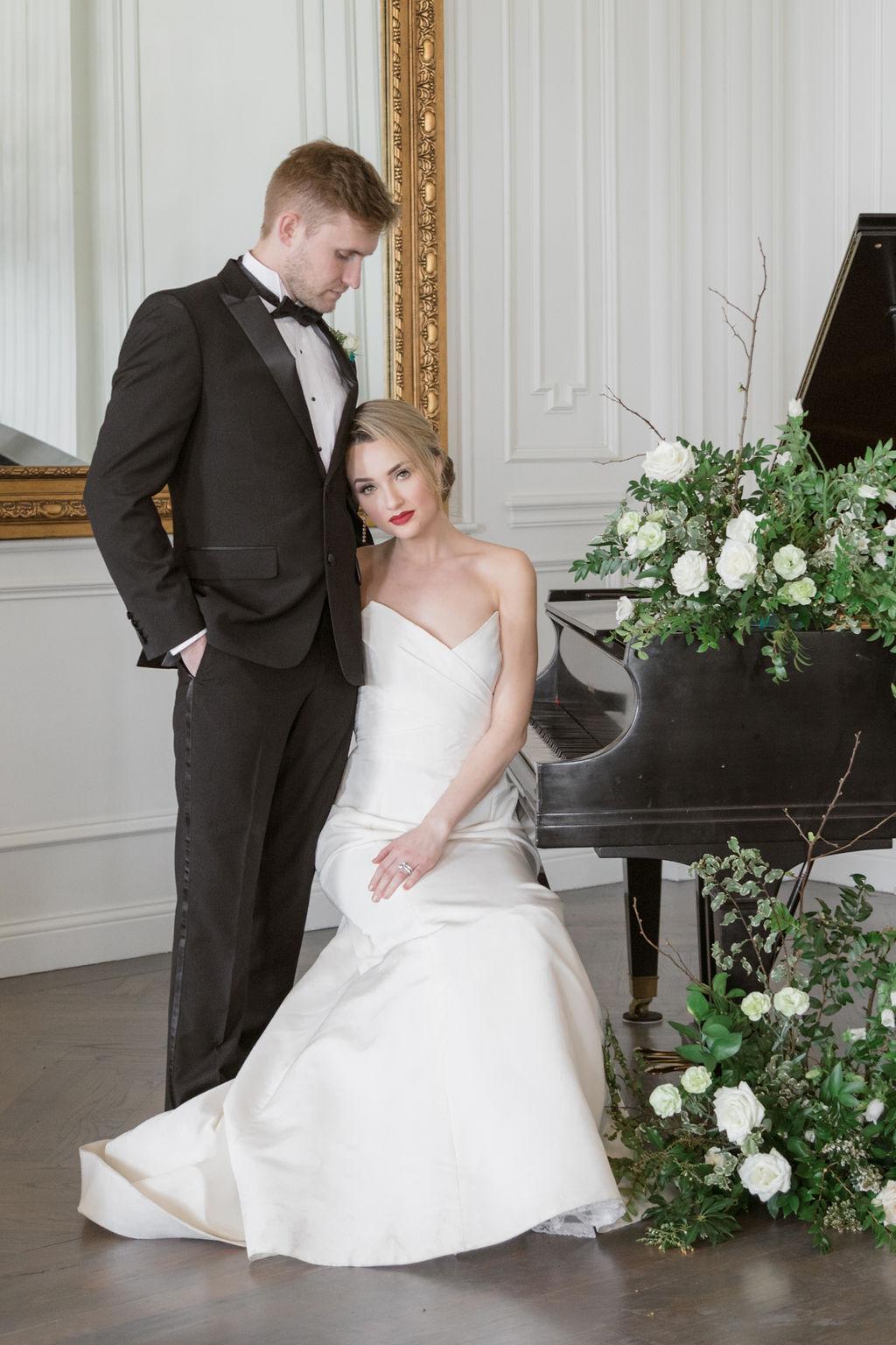 Carolina Goodwin Photography: Elegant Dallas Wedding Inspiration at The Mason featured on Alexa Kay Events