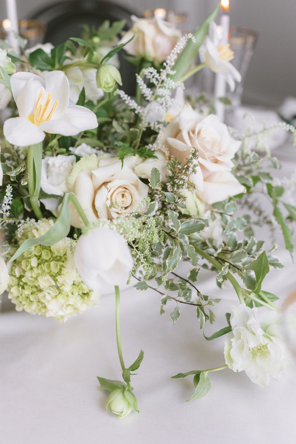 Wedding flower designs: Elegant Dallas Wedding Inspiration at The Mason featured on Alexa Kay Events