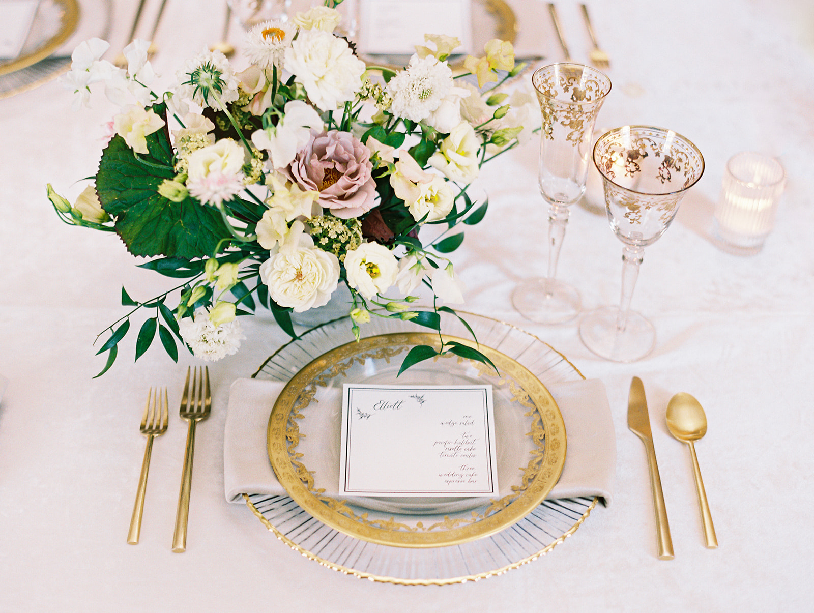Fine art wedding inspiration by Alexa Kay Events