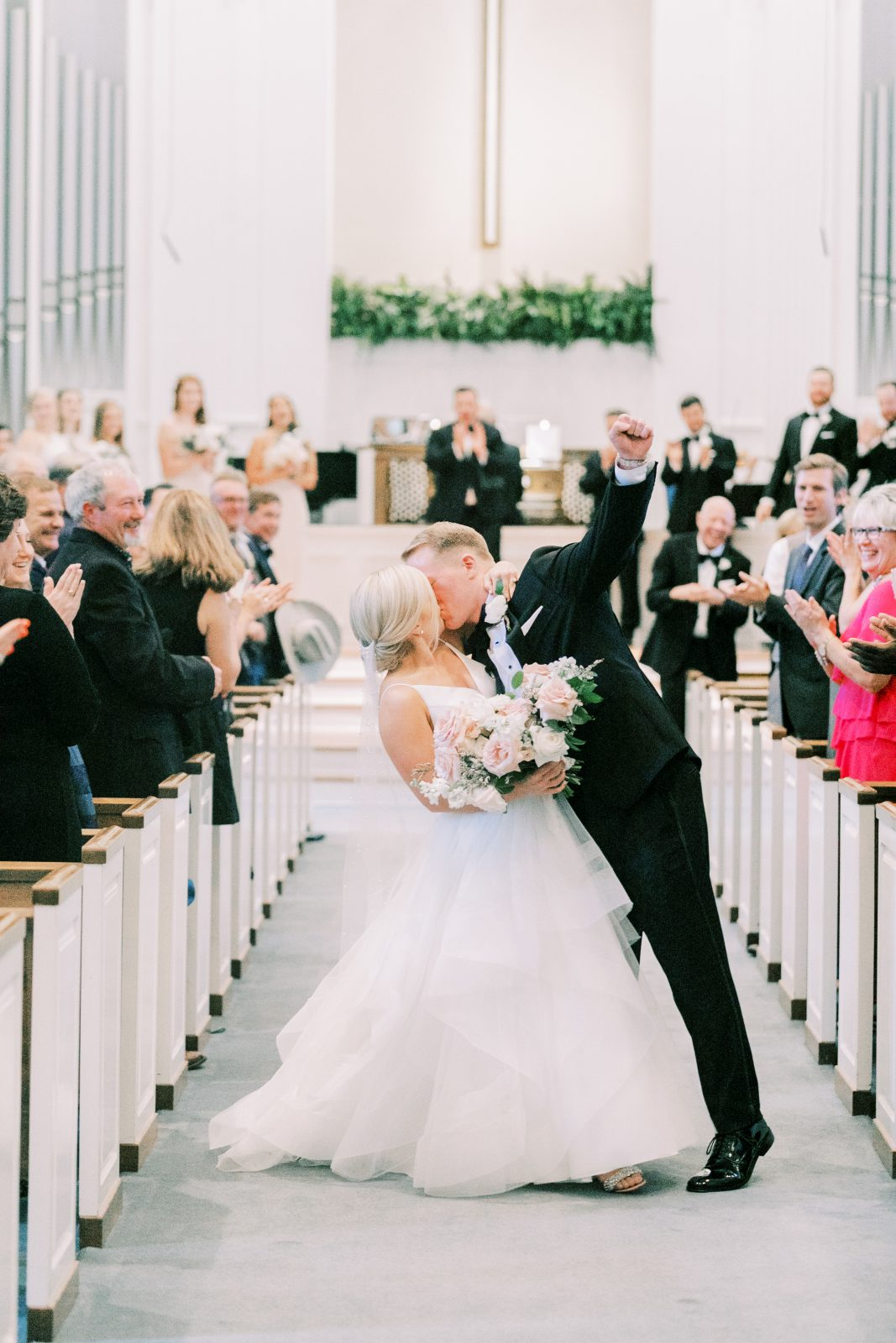 Royal Lane Baptist Church Wedding