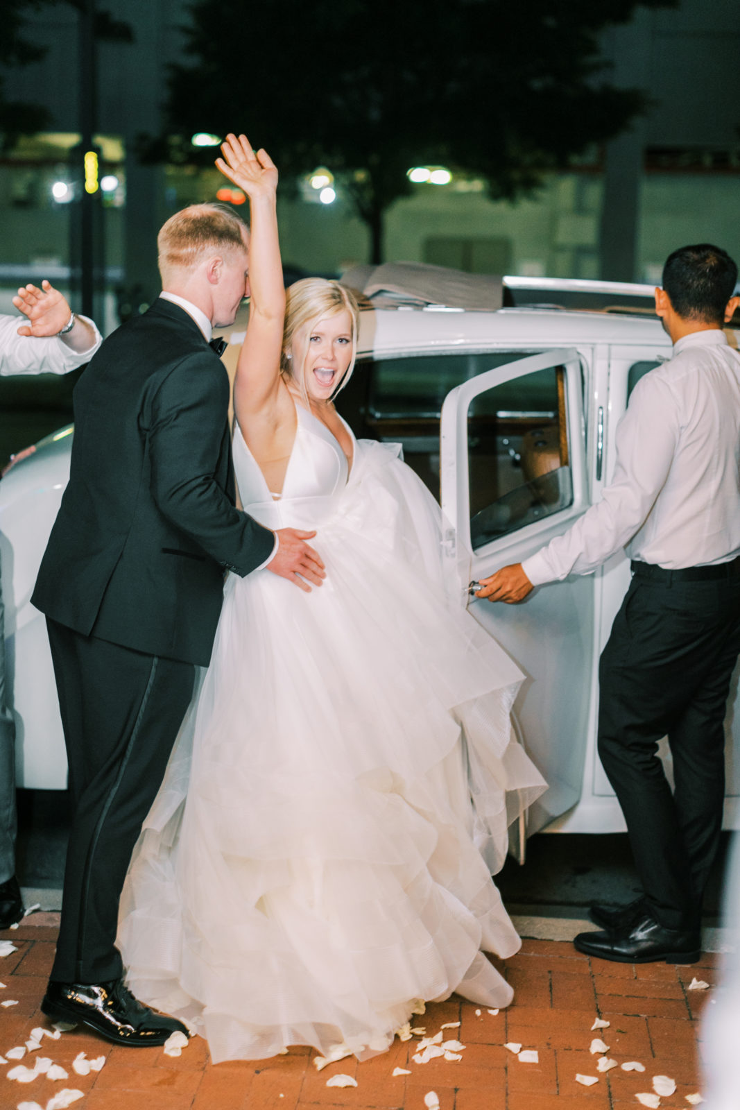 DFW wedding captured by Megan Kay Photography