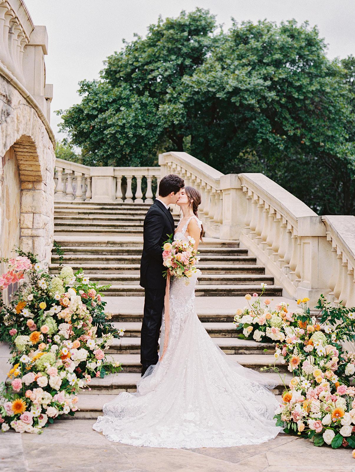Outdoor wedding reception inspiration   Alexa Kay Events