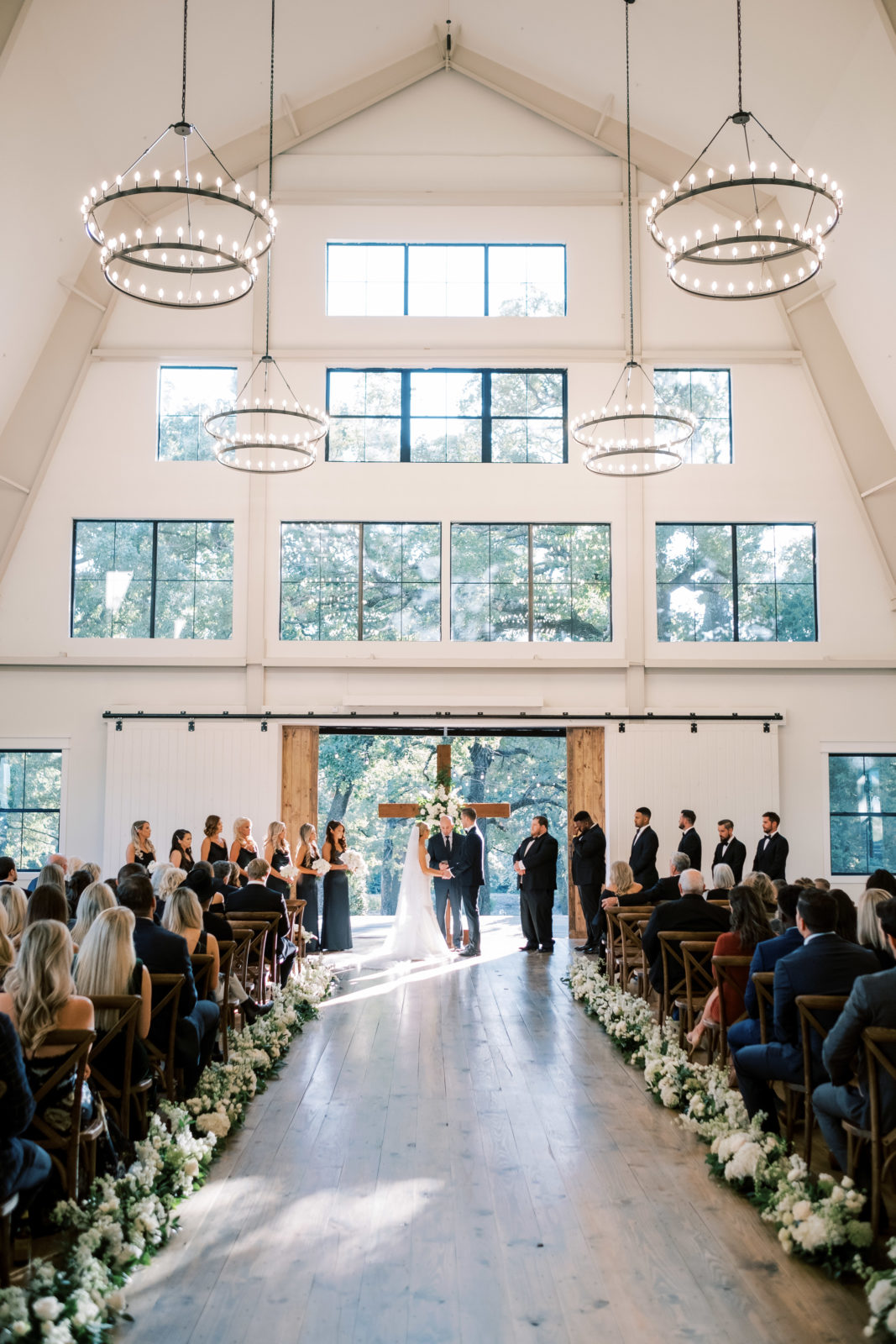 Oak and Ivy Texas Wedding Ceremony | Alexa Kay Events