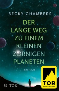 Der lange Weg zu einem kleinen zornigen Planeten - Wayfarer I - Buchcover - Becky Chambers - Mit freundlicher Genehmigung von Fischer/TOR