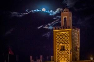 Minarett in Marrakesch - Foto: Alexander Baumbach