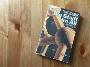 Die Stadt im All - Buchcover - Curt Siodmak