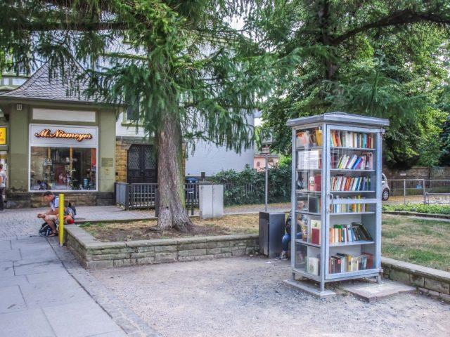 Bücherzelle in Goslar