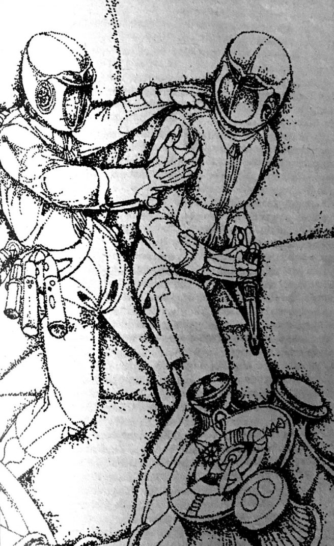 Quarantäne im Kosmos - Peter Lorenz - Illustration: Werner Ruhner