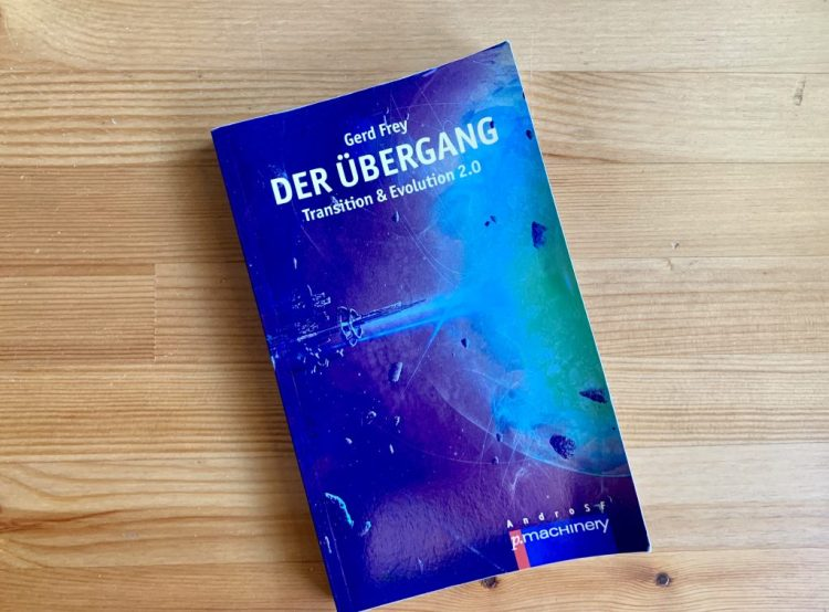 Der Übergang - Gerd Frey - Coverillustration Lothar Bauer