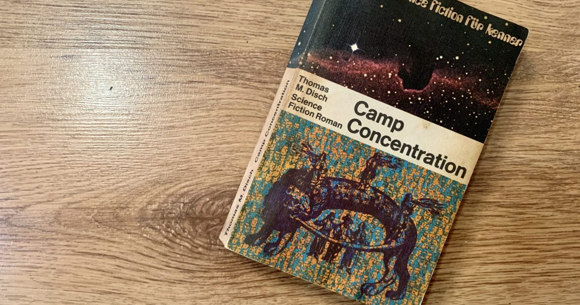 Camp Concentration - Thomas M. Disch - Buchcover