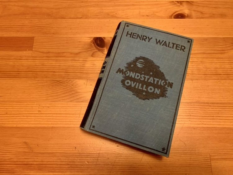 Mondstation Ovillon - Henry Walter - Buchcover