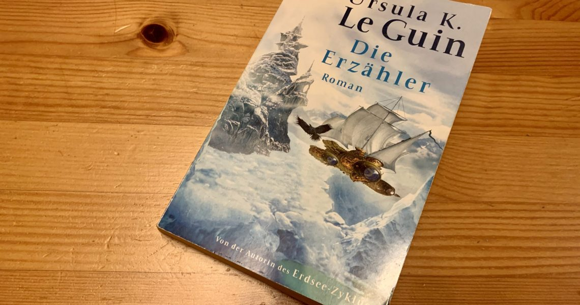 Die Erzähler - Ursula K. LeGuin - Buchcover