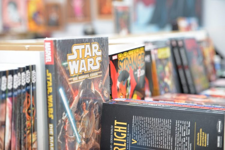 Star Wars im Buchhandel