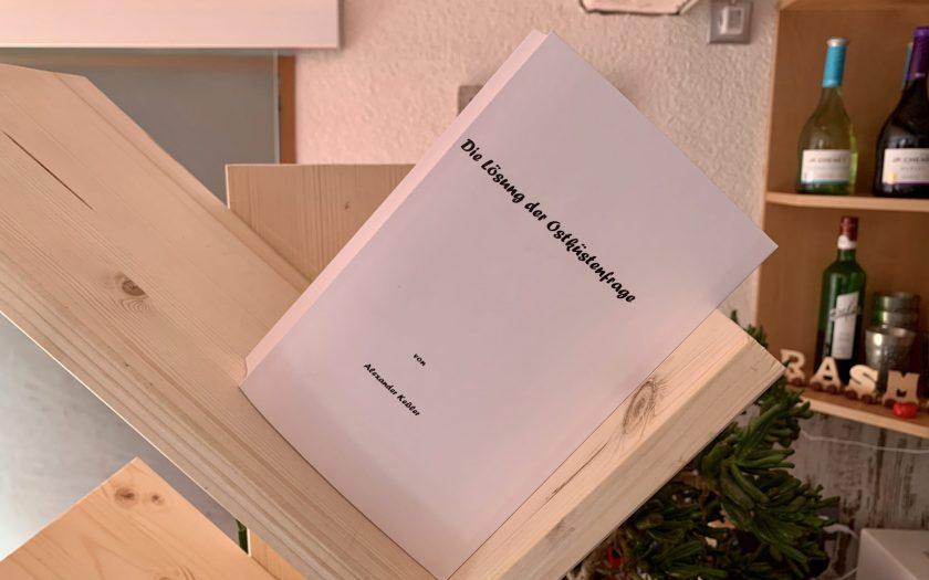 Die Lösung der Ostküstenfrage - Alexander Keßler - Buchcover