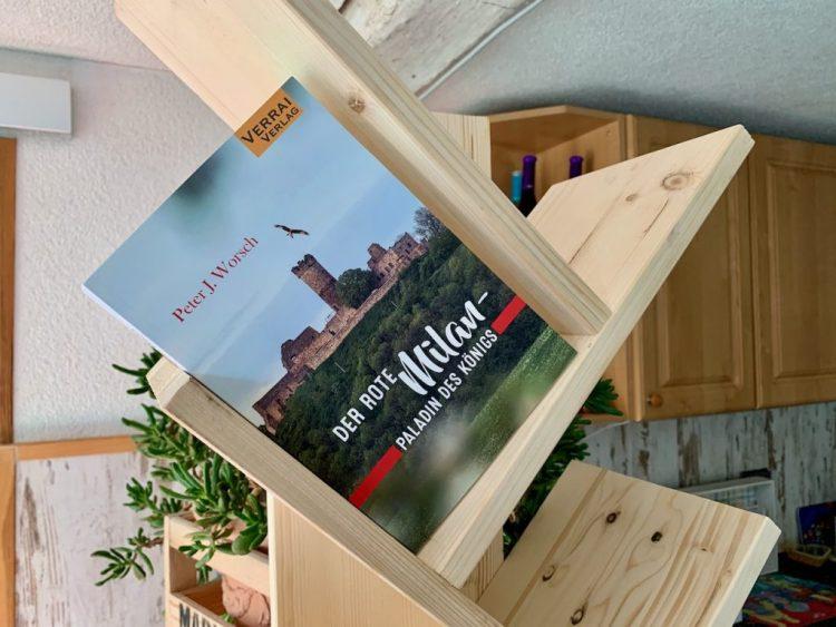 Der Rote Milan- Paladin des Königs - Peter J. Worsch - Foto: Wolfgang Hock - Buchcover