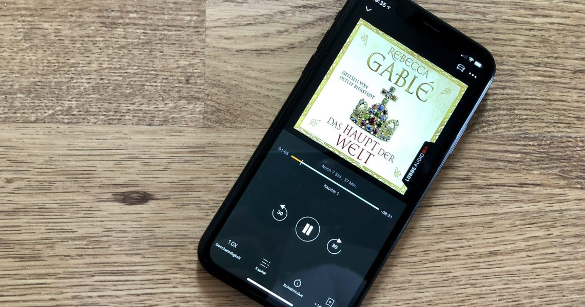 Das Haupt der Welt - Rebecca Gablé - Screenshot Audible-Version