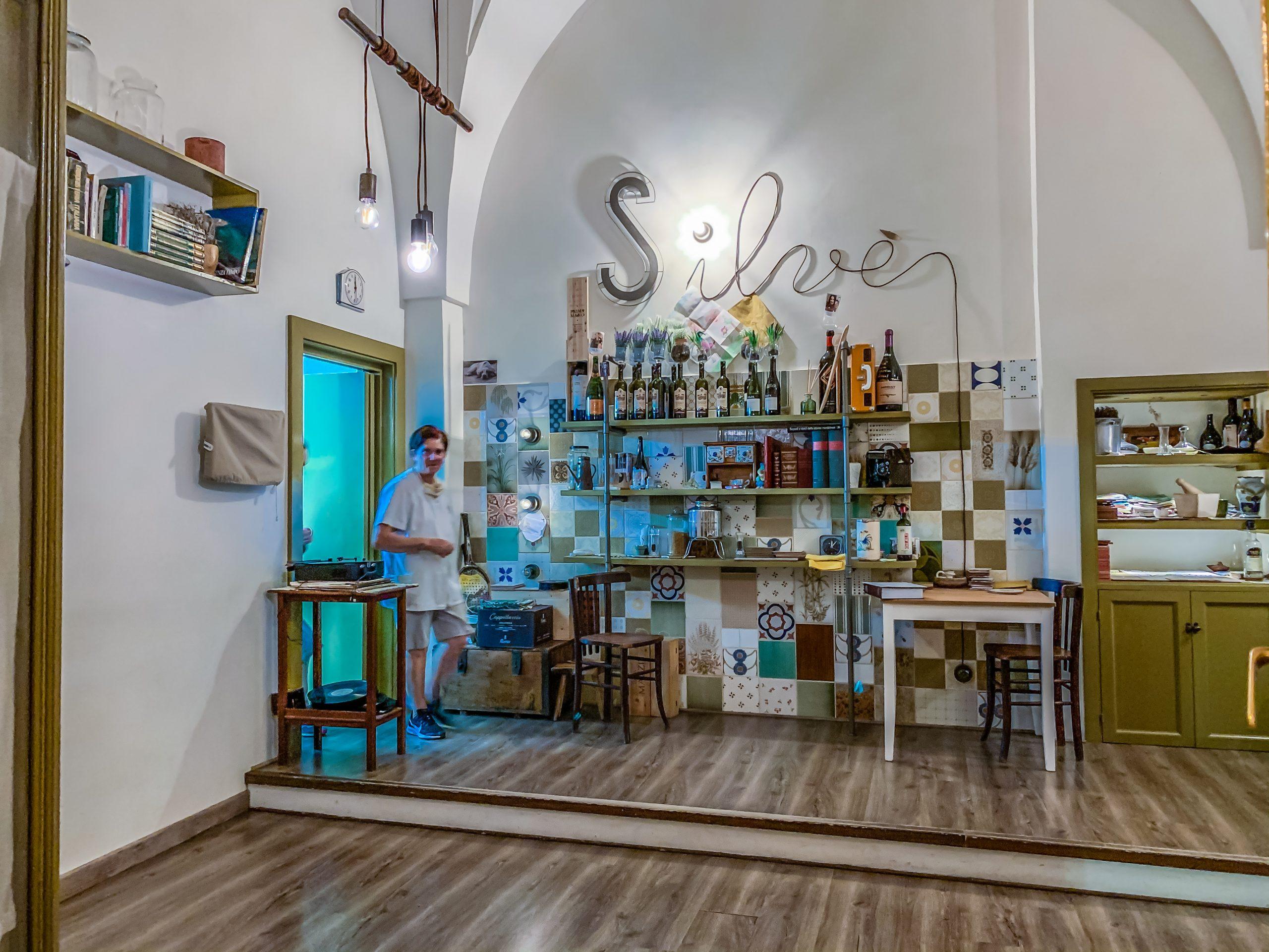 "Mama Maria vom Restaurant ""Silvé"" in Fasano. Foto: Alexander Baumbach"