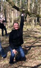 April 2013 mit Britta und Astrid: zwischen Achtsamkeit und Anatomie, Alexander-Arbeit zwischen Kunst und Technik