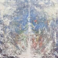 «Avalokiteshvara», acrylic on canvas, 60 x 60 cm, 北京 2016