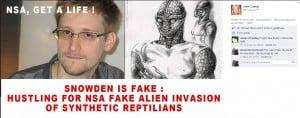 Irene Caesar Facebook Titelbild Snowden NSA Fake