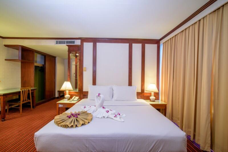 Alexander Hotel Bangkok : ห้องซูพีเรีย ดีลักซ์