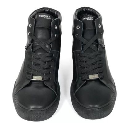 cesare_p_by_paciotti_james_shoes_mid_stivaletto_alto_sneakers_lacci_pelle_nero_saldi_low_price_alexander_john_shoes_napoli_vendita_on_line_ingrosso