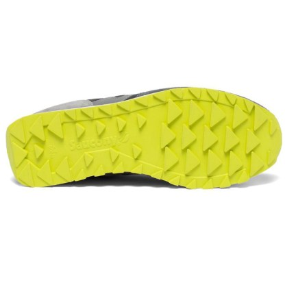 scarpe da uomo saucony jazz original men s2044-580 pavement grey gris grigio chiaro scuro verde fluo