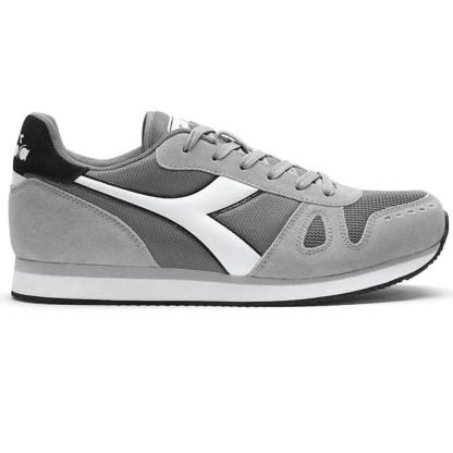 Scarpe da Uomo del brand DIADORA modello Simple Run colore Grigio Bianco, scopri tutti i modelli su Alexanderjohn.it
