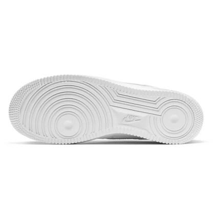scarpe da donna nike air force 1 '07 pelle bianco sneakers woman 315115-112
