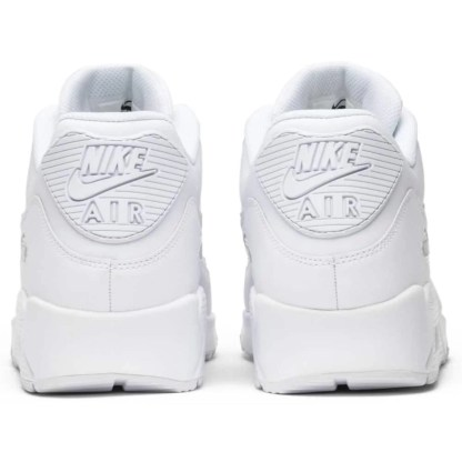 302519 113 Nike air max 90 Uomo Leather Bianco scarpe sneakers 41 42 43 44 45 originale