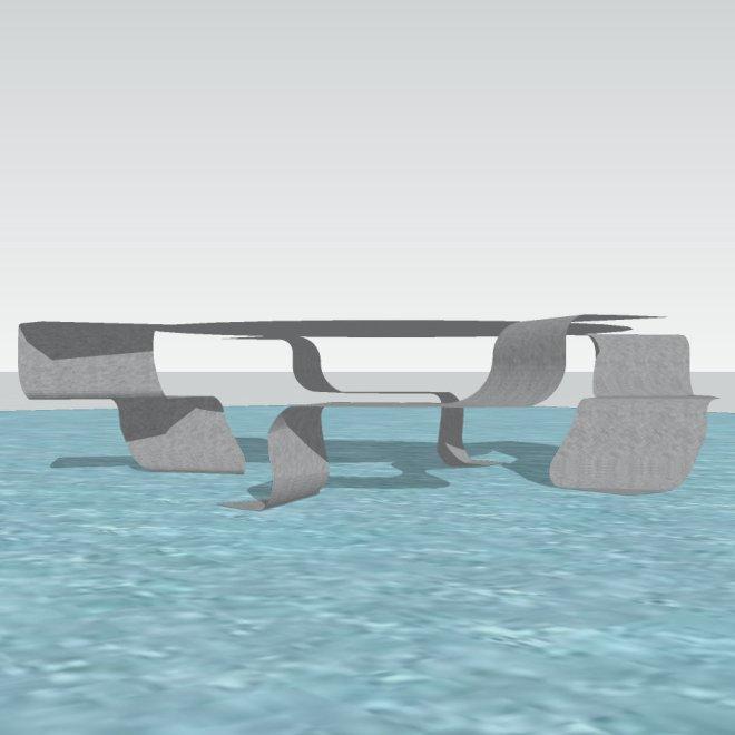 Tisch L5b-Quadrat