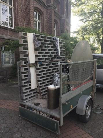 Transport, zusammen mit Arbeiten von Nina Lieven und Marcel Häkel