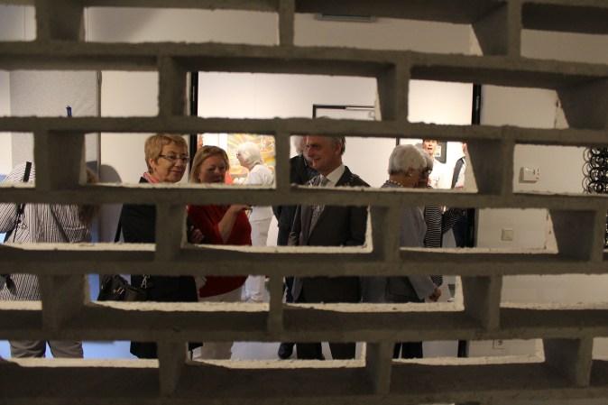 Brickless Wall mit Christiane Mackensen, Ali van den Berg und Rob Metz (Foto: Knut Kargel)