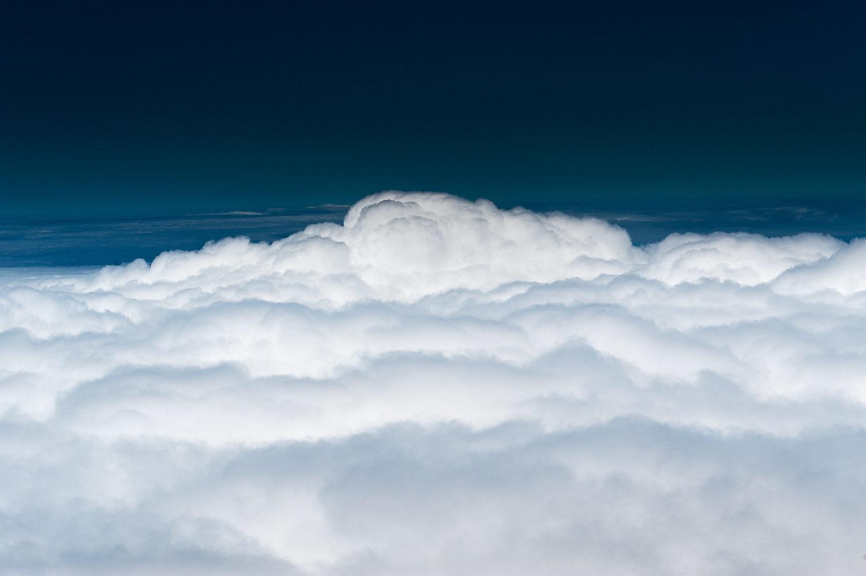Freiberufler in den Wolken