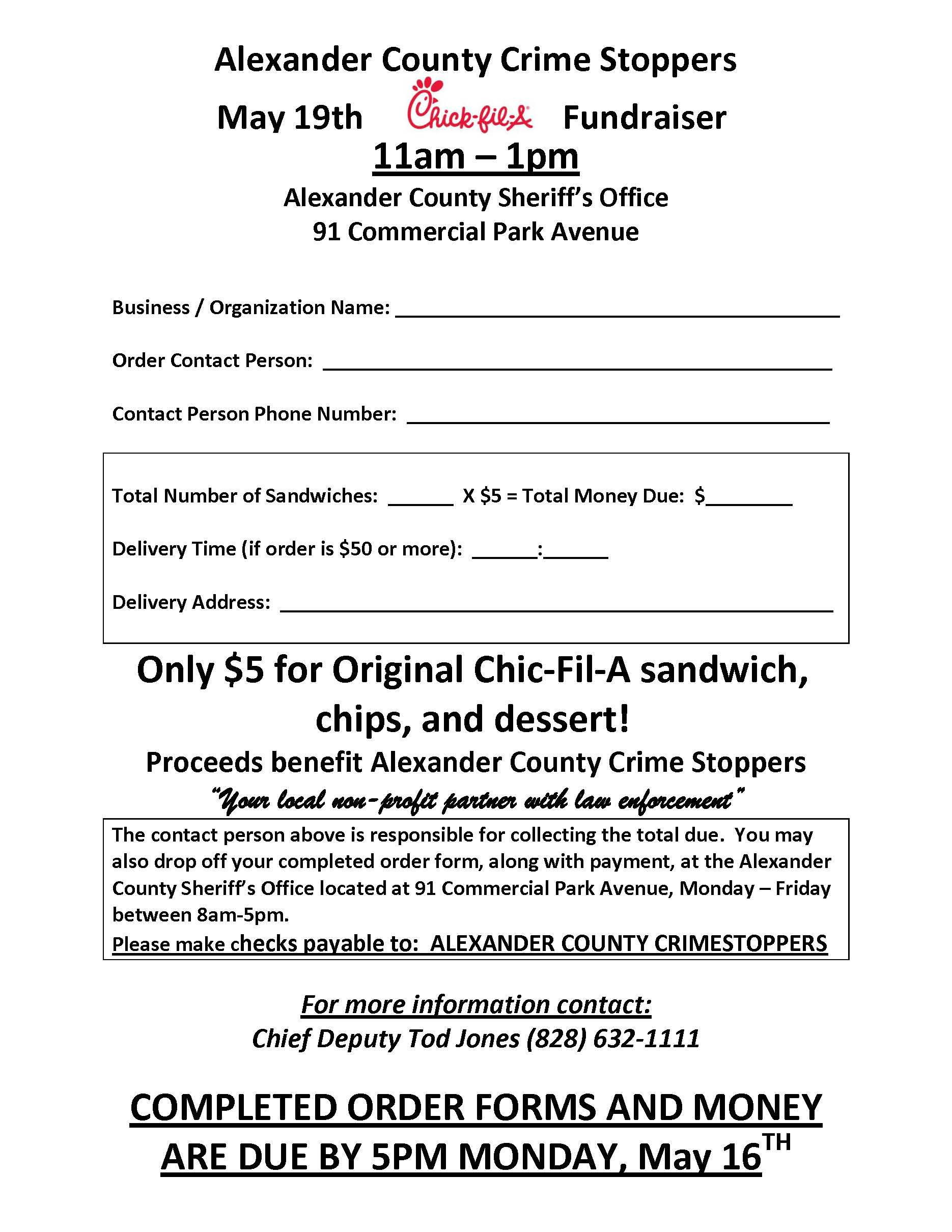 Chick Fil A Fundraiser Form Antaexpocoachingco - Chick fil a fundraiser flyer template
