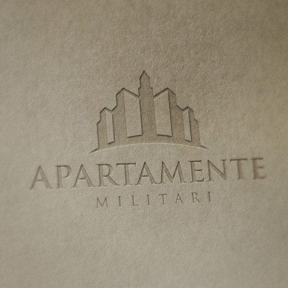 Logo Apartamente in Militari by Alexander Slash