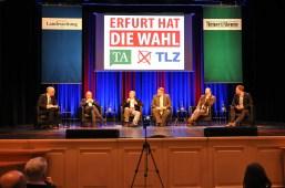 TA/TLZ Wahlforum im Kaisersaal