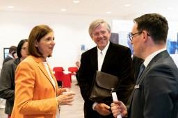 Besuch der IT-Leistungsschau mit Katrin Göring-Eckardt