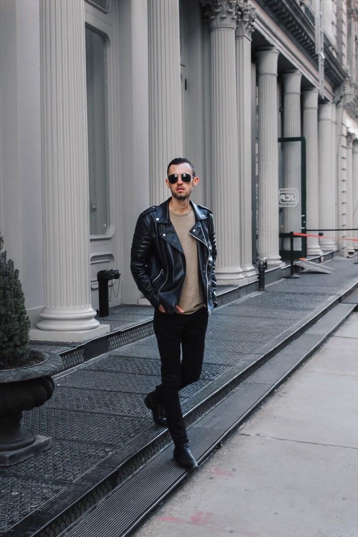 alex leather zara jacket