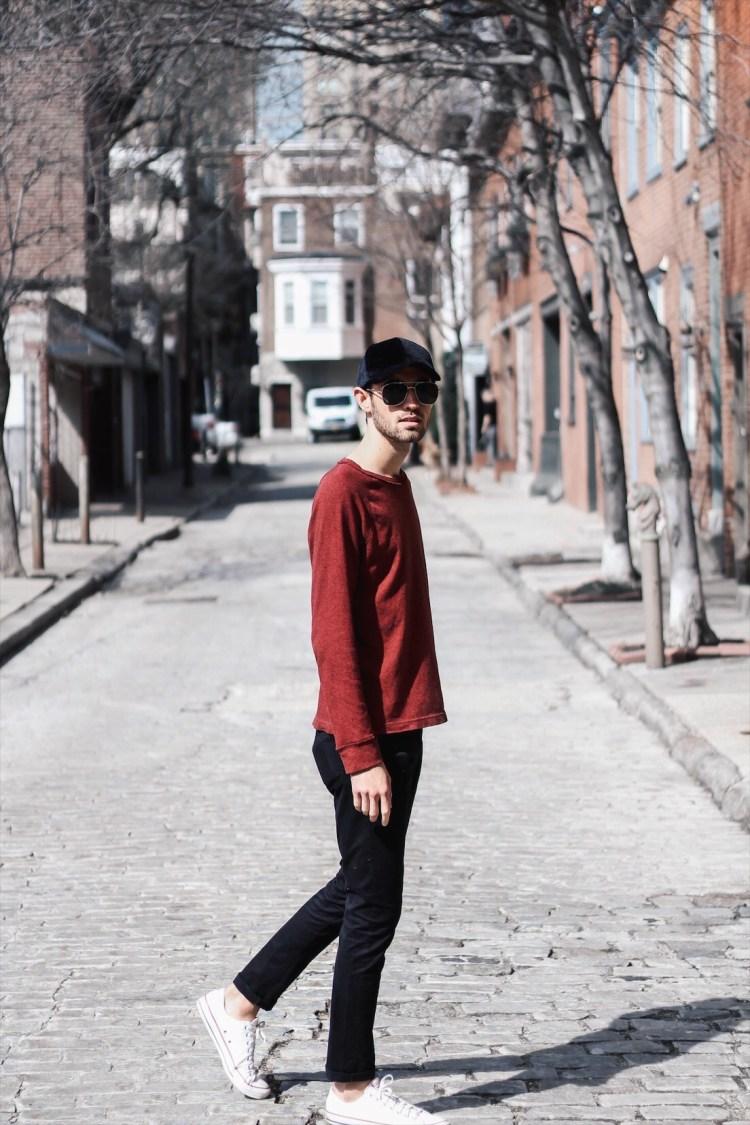 alex in street