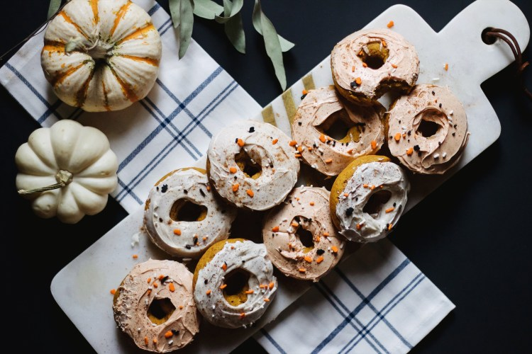 OUR TRADITIONAL GLUTEN-FREE PUMPKIN DONUTS