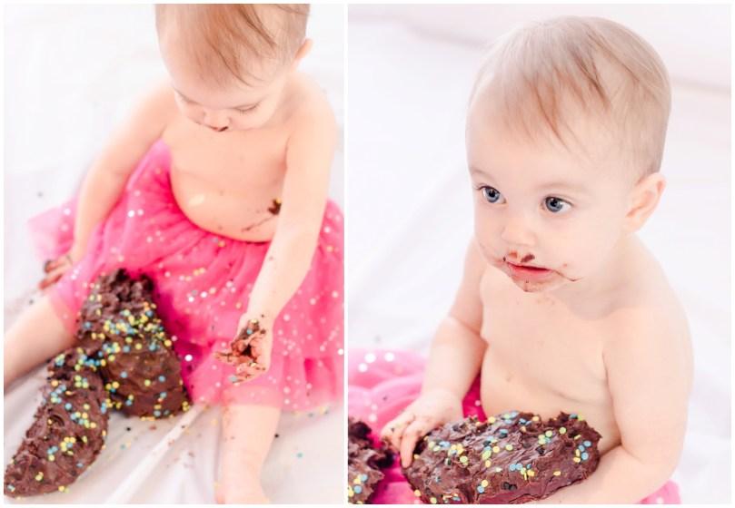 Alexandra Michelle Photography - Cora Cake Smash-43