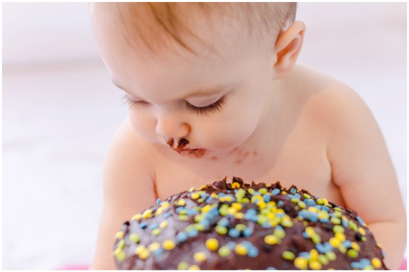 Alexandra Michelle Photography - Cora Cake Smash-61