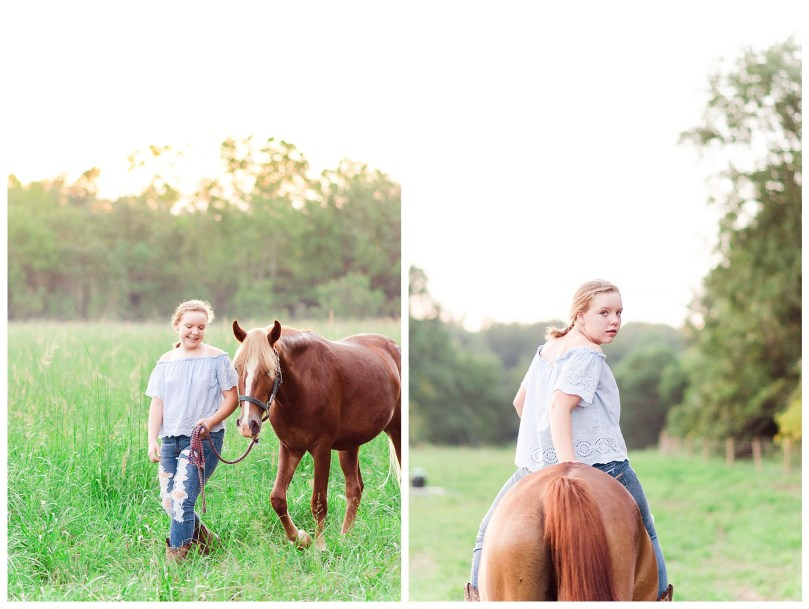 Alexandra Michelle Photography - Charlottesville Virginia - Country Farm - September 2018 - 13th Birthday Portraits-60