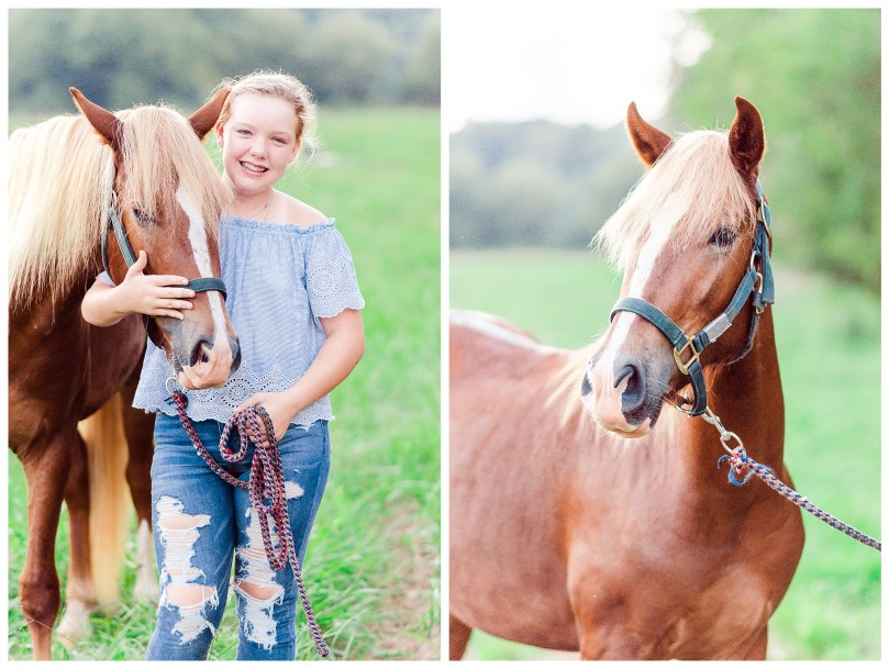 Alexandra Michelle Photography - Charlottesville Virginia - Country Farm - September 2018 - 13th Birthday Portraits-67