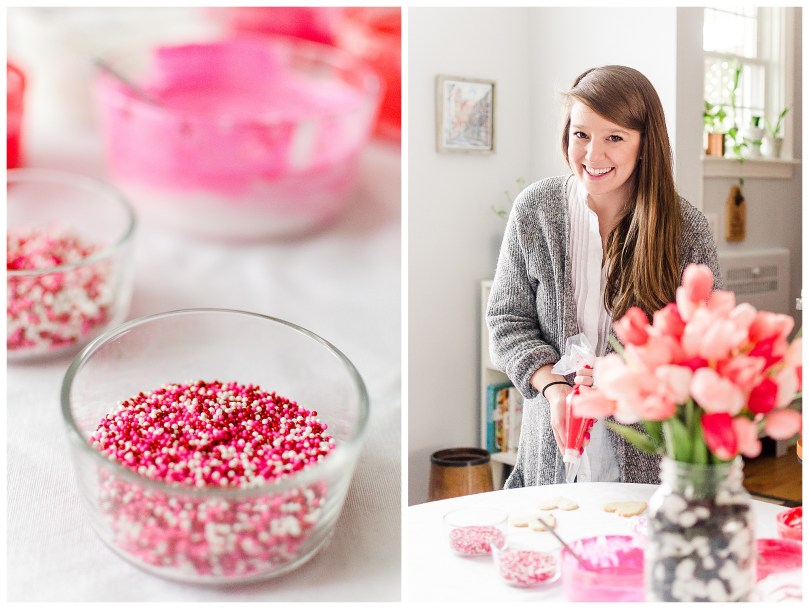 Alexandra Michelle Photography - 2019 - Self Portraits - Baltimore Maryland - Valentines Day Baking-4