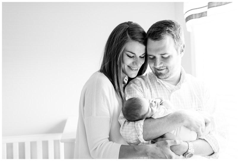 Alexandra Michelle Photography - November - 2018 - Virginia - Newborn - Autry BW-72