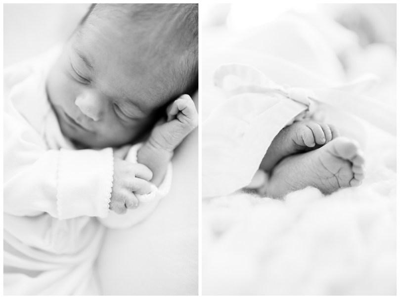 Alexandra Michelle Photography - November - 2018 - Virginia - Newborn - Autry BW-8